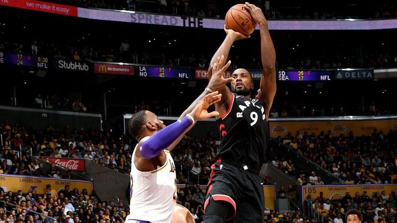 Serge Ibaka vs Los Angeles Lakers