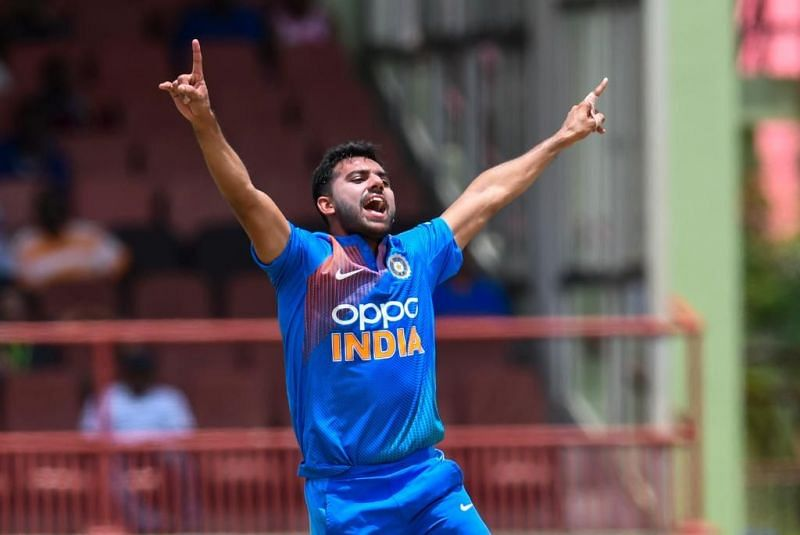 Deepak Chahar is part of the Indian T20I squad which will face Australia [@bcci]