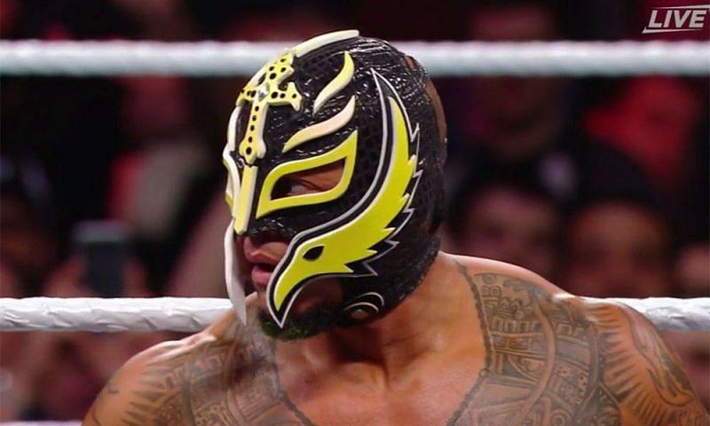 WWE veteran Rey Mysterio in the ring