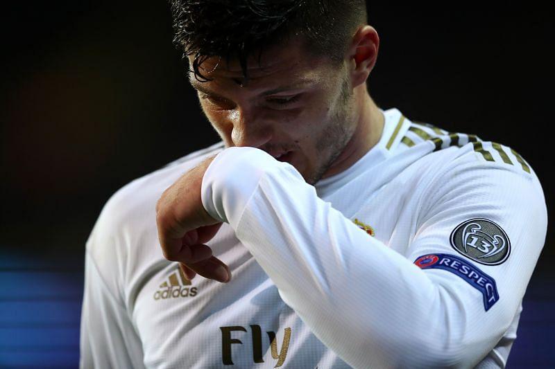 Real Madrid striker Luka Jovic