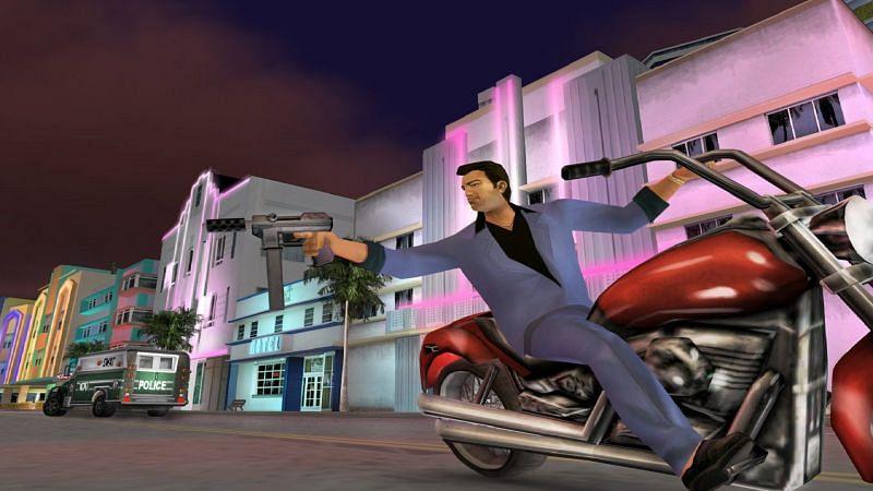 GTA Vice City on PC (Image via Steam)