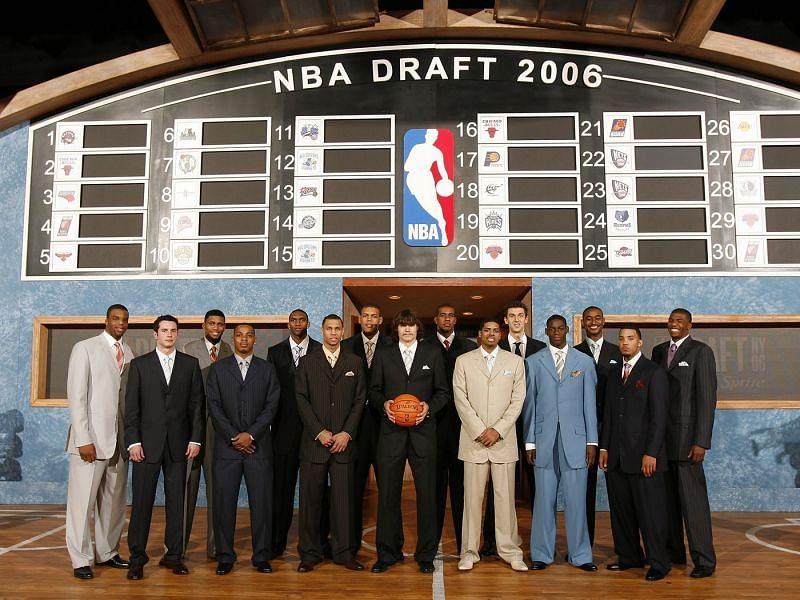 The 2006 NBA Draft class