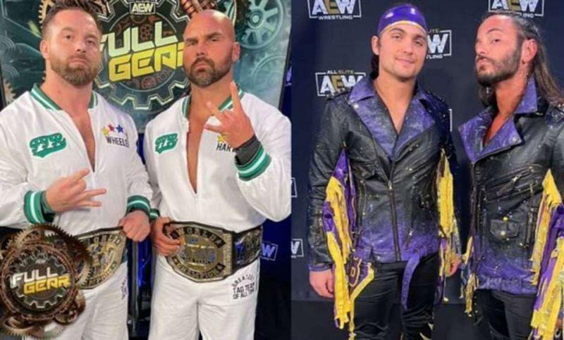 The Young Bucks vs. FTR at AEW Full Gear awarded five-plus stars from Wrestling Observer Newsletter