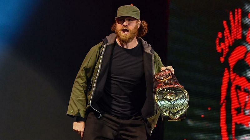 Sami Zayn took some time to tune out off of wrestling during the lockdown