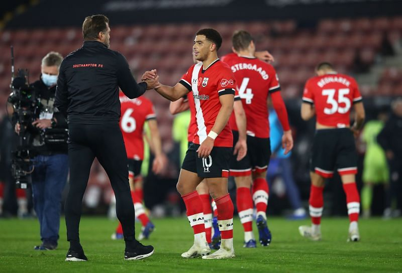 Southampton will once again look to Che Adams to lead the line in Danny Ings