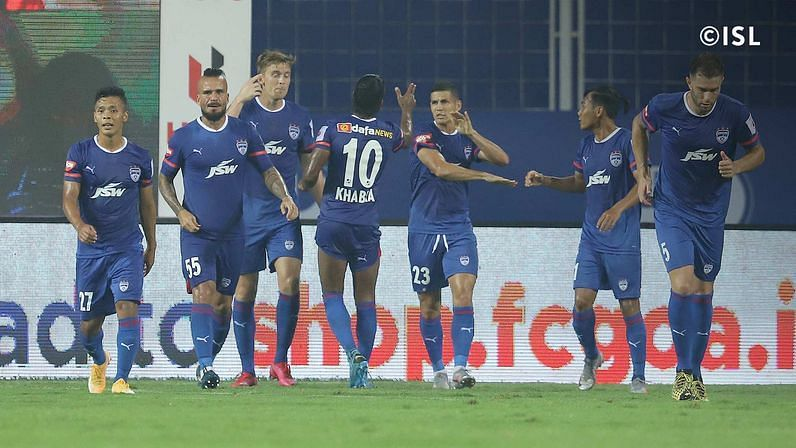 Bengaluru FC were pegged back by FC Goa in their opening ISL encounter (Credits: ISL)