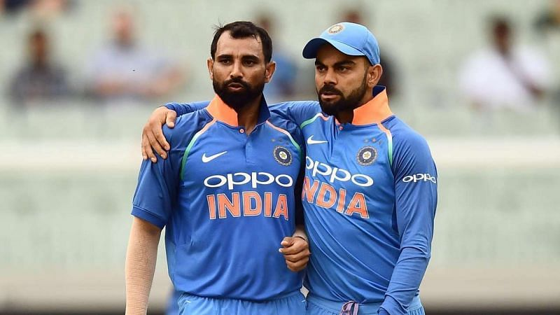 Virat Kohli and Mohammed Shami feature in a lot of records that could be broken in the upcoming series [AFP]
