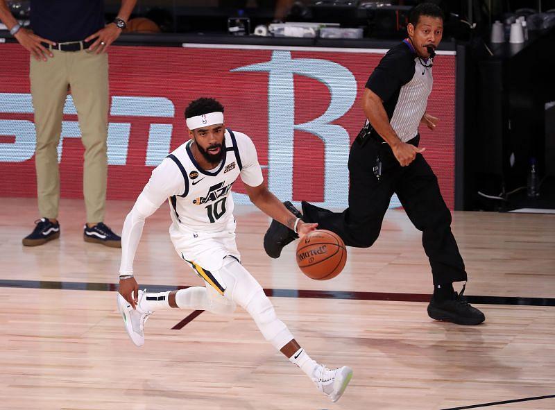 Mike Conley - Utah Jazz v Denver Nuggets - Game Seven