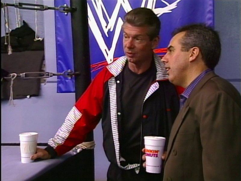 Vince McMahon and Kevin Dunn