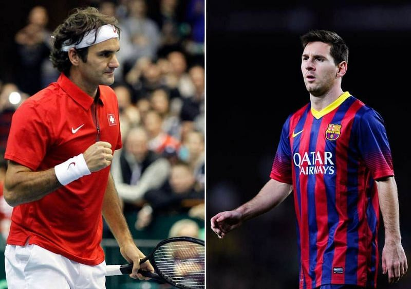 Roger Federer and Lionel Messi are two of the most successful athletes of our time.