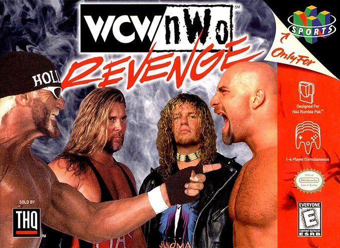 WCW/nWo Revenge was an N64 bestseller in 1998