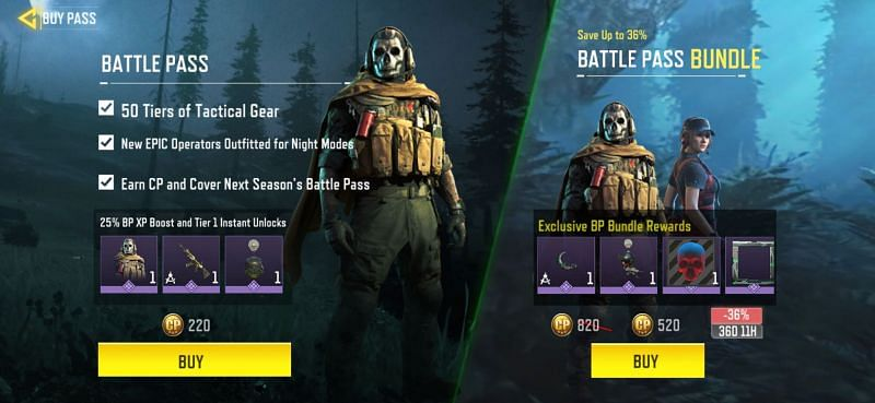 Free and Premium Battle Pass rewards for COD Mobile Season 12 announced