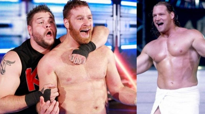 Not even Val Venis can stand between Kevin Owens and Sami Zayn
