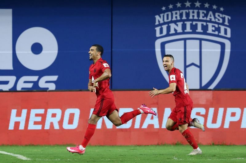 Kwesi Appiah will lead the attacking line-up for NEUFC