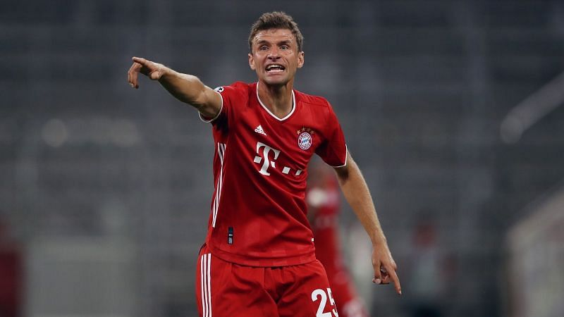 Despite being written off and having his ability questioned, Thomas Muller remains highly influential in attack.
