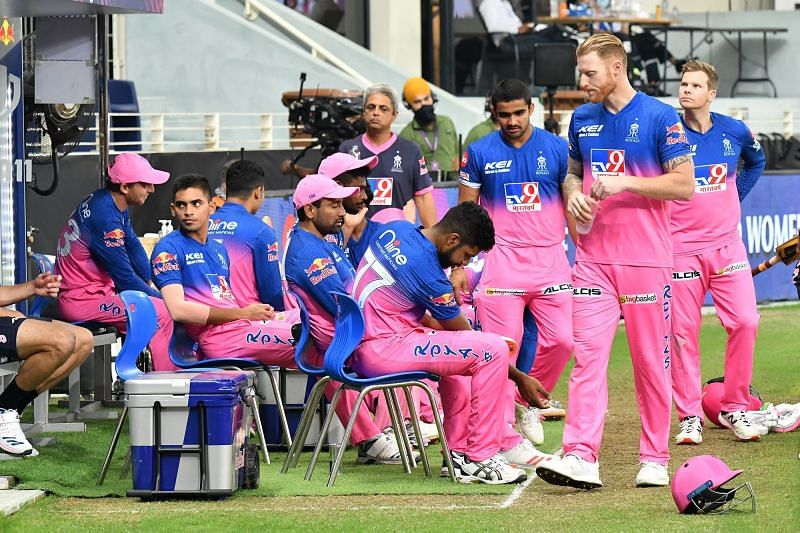 The Rajasthan Royals lost a do-or-die game to end up bottom of the IPL 2020 pile. [PC: iplt20.com]