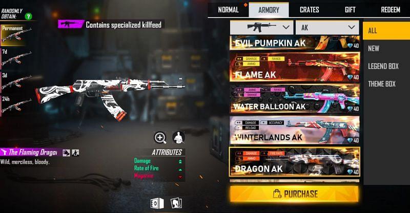 The Dragon AK