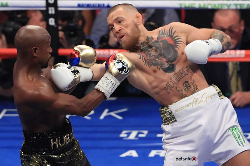 Conor McGregor fought Floyd Mayweather in a Money Fight