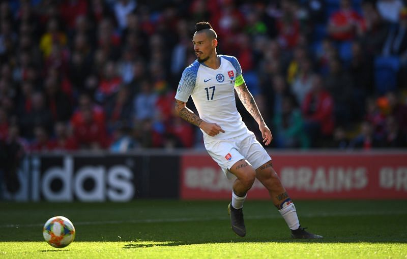 Slovakia play Northern Ireland on Thursday