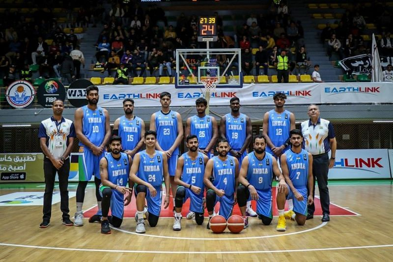 Indian basketball team in the first window of FIBA Asia Cup Qualifiers 2021