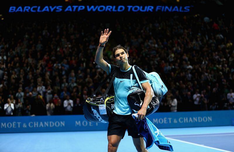 Rafael Nadal has never won the ATP Finals