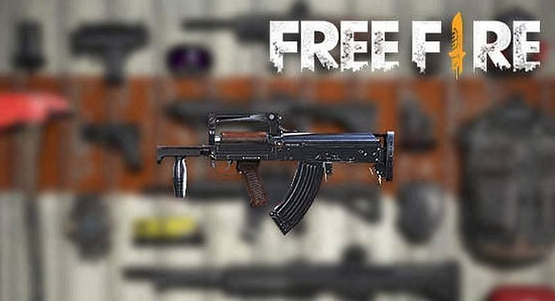 Groza weapon in Free Fire