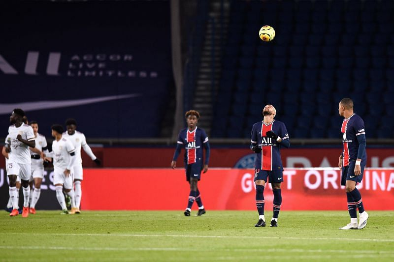 PSG drew for the first time this season