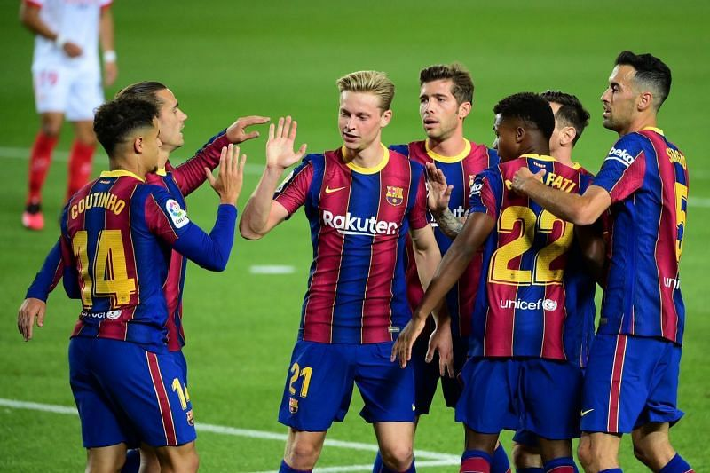 Barcelona have a tough fixture against Atletico Madrid on Saturday.