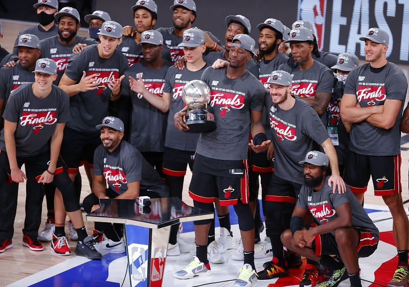 Miami Heat won the Eastern Conference last year