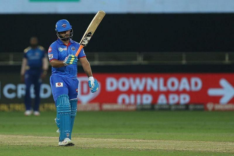 ऋषभ पंत ने आईपीएल 2020 का अपना एकमात्र अर्धशतक फाइनल मुकाबले में मुंबई इंडियंस के खिलाफ लगाया