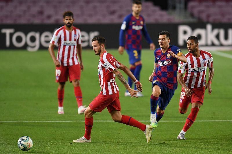Unbeaten Atletico Madrid host struggling Barcelona in an enticing La Liga clash this weekend.