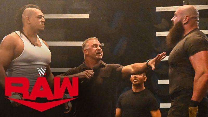 डब्बा काटो और ब्रॉन स्ट्रोमैन का Raw अंडरग्राउंड में आमना-सामना हो चुका है