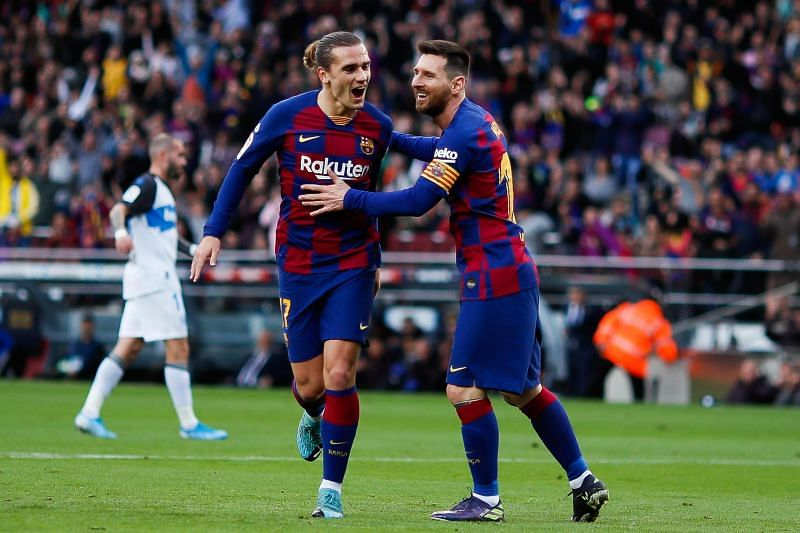 Barcelona duo Antoine Griezmann and Lionel Messi supposedly lack chemistry on and off the pitch