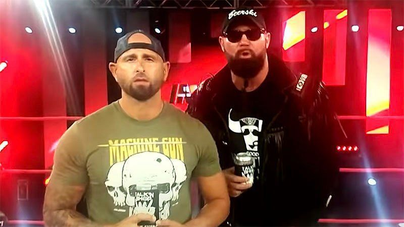 Gallows and Anderson on IMPACT Wrestling