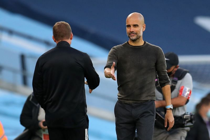 Pep Guardiola has also rubbished suggestions he could return to Barcelona