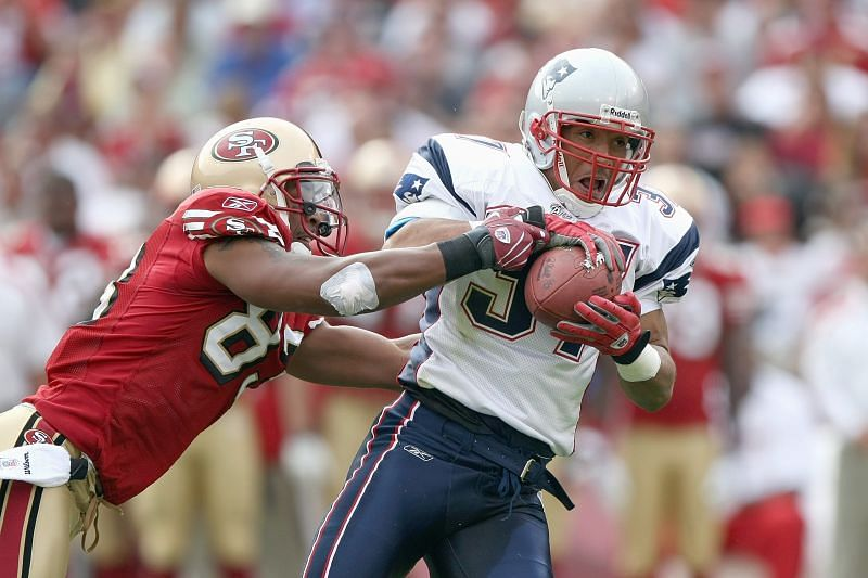 Rodney Harrison with the New England Patriots