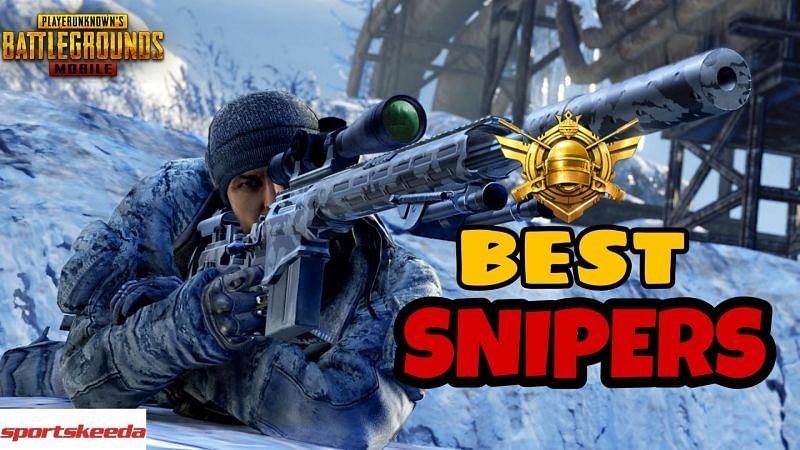 PUBG Mobile best sniper rifles