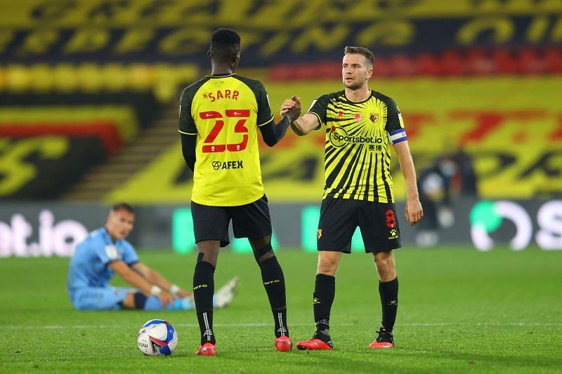 Watford play Bristol City on Wednesday