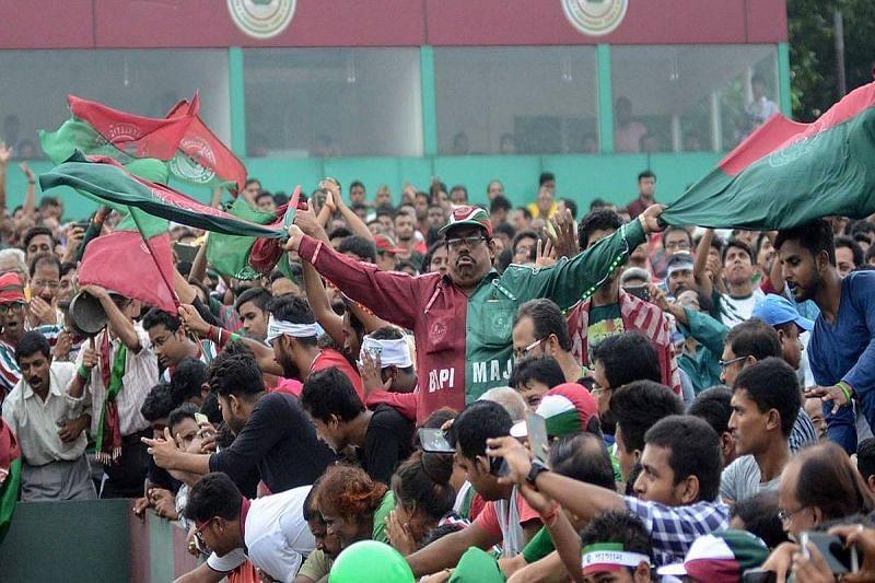 Mohun Bagan fans