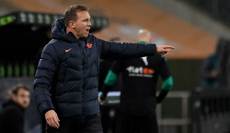 Julian Nagelsmann is being considered for the Manchester United job
