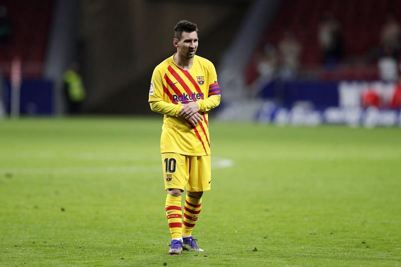 Lionel Messi did not have a good game