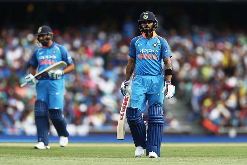 Virat Kohli scored 153 runs in 3 ODIs when India toured Australia in 2018/19