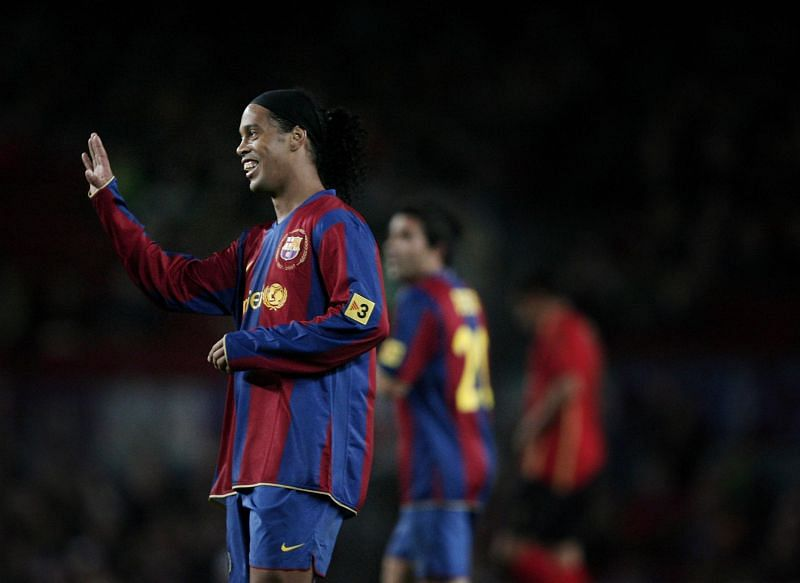 Ronaldinho is one of the most entertaining football players of all time.
