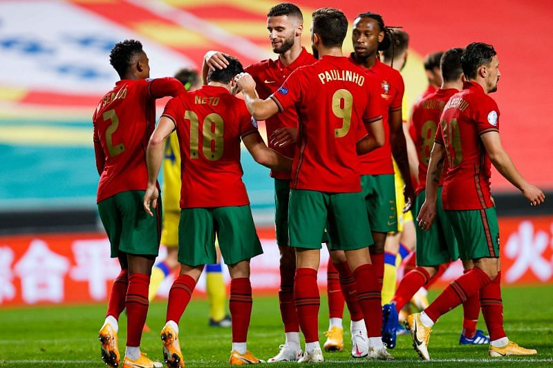 Portugal defeated Andorra 7-0 in an international friendly