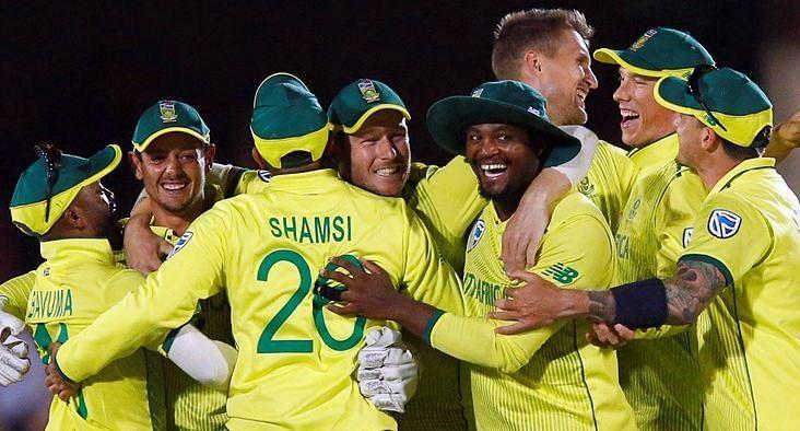 दक्षिण अफ्रीका टीम