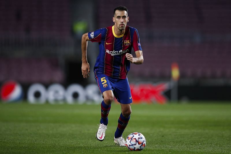 Sergio Busquets is back for Barcelona