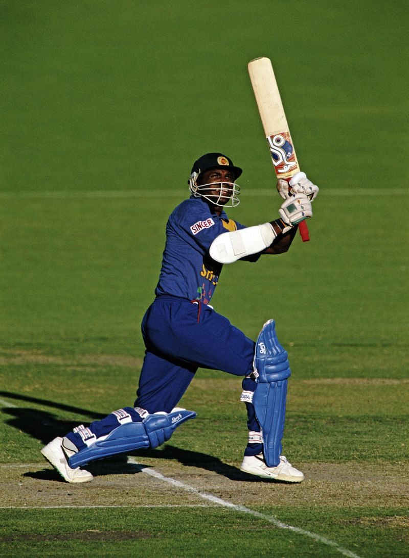 Sanath Jayasuriya was banned by the ICC in 2019 for two years for breaching its Anti Corruption Code.