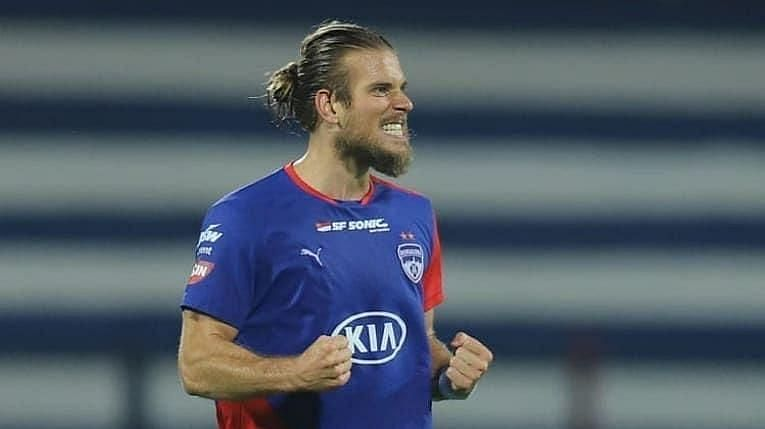Erik Paartalu is a prime threat from attacking set-pieces for Bengaluru FC