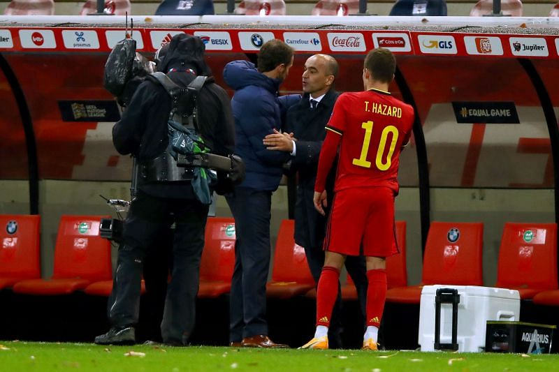 Belgium host Denmark in the UEFA Nations League