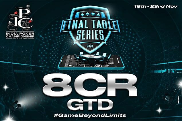 Indian Poker Championship launches Final Table Series.